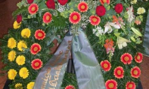 Trauerfloristik Gedenktage